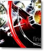 Classic Cars Beauty By Design 4 Metal Print