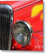 Classic Cars Beauty By Design 8 Metal Print