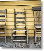 Classic Chairs Metal Print