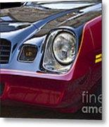 Classic Chevrolet Camaro Metal Print