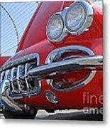 Classic Chevrolet Corvette Automobile Metal Print