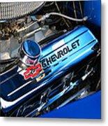 Classic Chevy Power Plant Metal Print