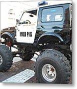 Classic Custom Jeep Metal Print