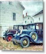 Classic Ford Model A Cars Metal Print