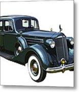 Classic Green Packard Luxury Automobile Metal Print