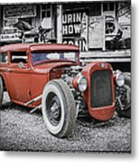 Classic Hot Rod Metal Print