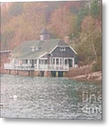 Classic Maine Architecture Metal Print