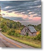 Classic Missouri Barn Metal Print