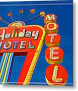 Classic Old Neon Signs Metal Print