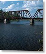 Classic Rail Bridge Metal Print