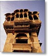 A Rajasthan Haveli Metal Print