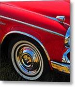 Classic Red Studebaker Metal Print