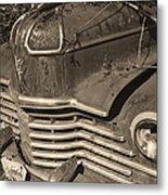 Classic Rust Metal Print
