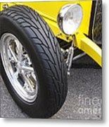 Classic Tire Tread Metal Print