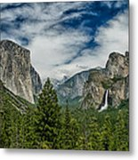 Classic Tunnel View Metal Print
