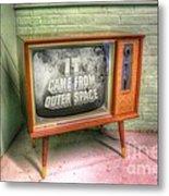 Classic Tv Metal Print