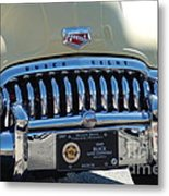 Classic Yellow 49' Buick Eight Metal Print
