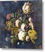 Classical Bouquet - S0104t Metal Print