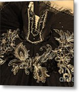 Classically Costumed Xiv Metal Print by Cassandra Buckley