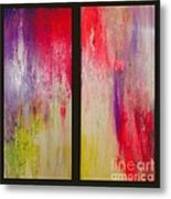 Classy And Sassy   Diptych Metal Print
