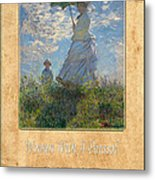 Claude Monet 1 Metal Print