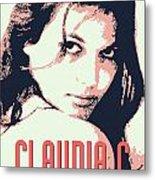 Claudia C Metal Print