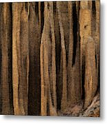 Clay Organ Pipes Formation In Front Metal Print