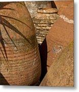Clay Pots   #7806 Metal Print