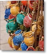 Clay Pots For Your Kitchen Metal Print