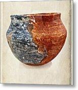 Clay Pottery  - Fine Art Photography Metal Print by Ella Kaye Dickey