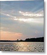 Clayton Lake Sunset Metal Print