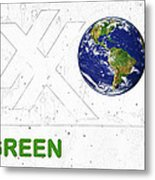 Clean Energy Metal Print