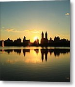 Clear And Smooth Metal Print