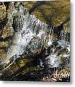 Clear Beautiful Water Series 3 Metal Print