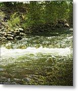 Clear Creek In Colorado Metal Print