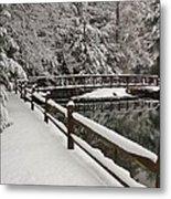 Clear Creek Winter Metal Print