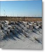 Clear Day At The Beach Metal Print