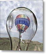 Clear Idea Metal Print