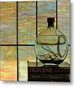 Clear On Color Metal Print