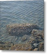 Clear Sea Metal Print