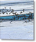 Cleared To Land Metal Print