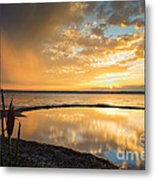 Clearing Rainstorm Metal Print