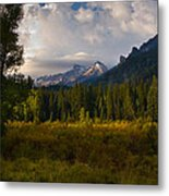 Clearing Skies Metal Print