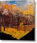 Clearing Storm West Temple 2012 Metal Print