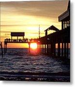 Clearwater Beach Pier Metal Print