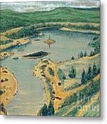 Clearwater Lake Early Days Metal Print