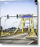 Clement Bridge Metal Print