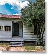 Clementine Hounter House Metal Print