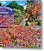 Clemson Tigers Memorial Stadium II Metal Print