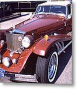 Clenet on Rolls Royce Row Metal Print